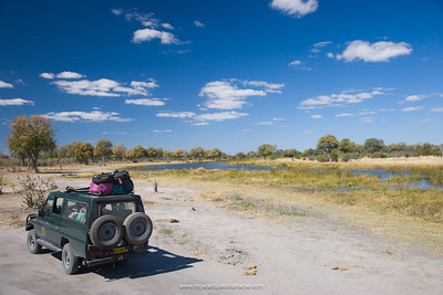 4X4 Safari. Savuti. Chobe National Park. Botswana