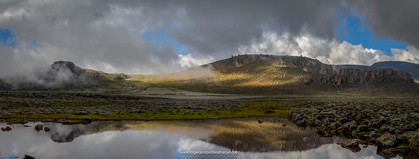 Scenic view.Bale Mountains National Park. Ethiopia.