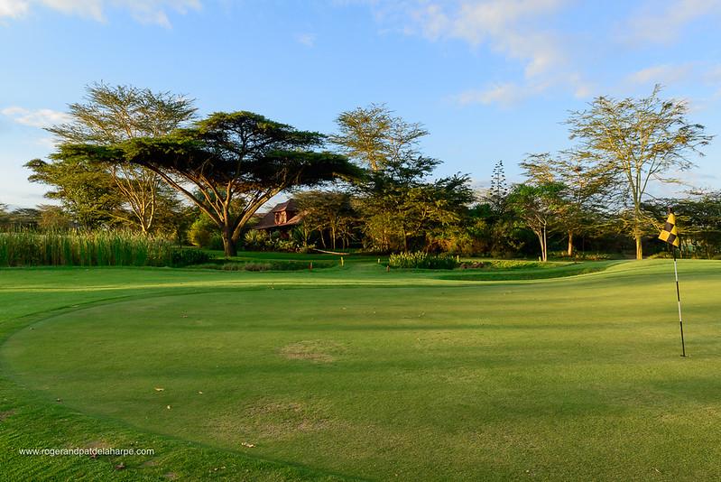 Golf course at Great Rift Valley Lodge & Golf Resort. Naivasha. Great Rift Valley. Kenya