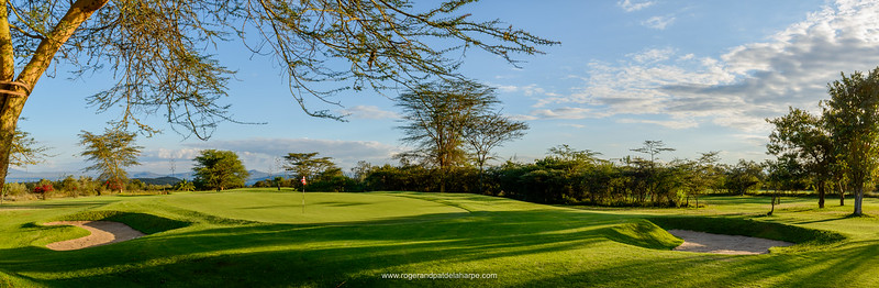 Golf course at Great Rift Valley Lodge & Golf Resort. Naivasha. Great Rift Valley. Kenya