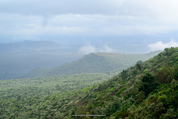 Kikuyu Escarpment. Great Rift Valley. Kenya