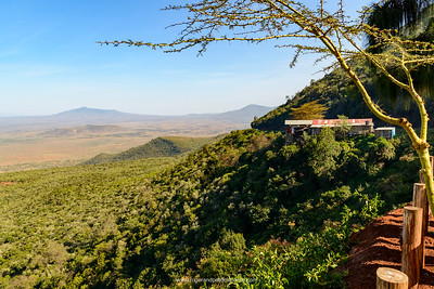 Scenic View of the  Great Rift Valley Escarpment. Kikuyu Escarpment. Kenya