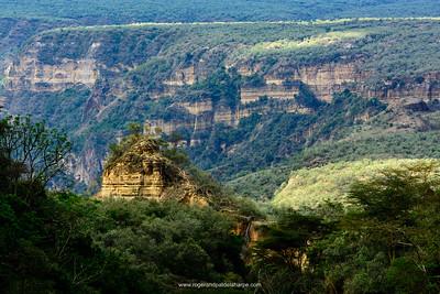 Hells Gate National Park. Naivasha. Great Rift Valley. Kenya