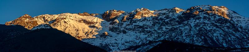Scenic view. High Atlas Mountains. Imlil. Morocco.