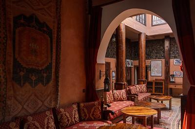 Kasbah du Toubkal lodge. High Atlas Mountains. Imlil. Morocco.