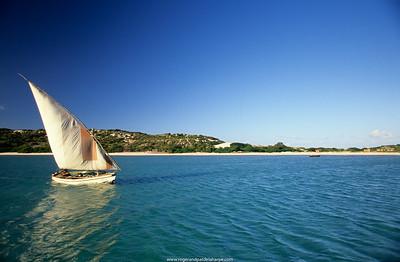 Dhouw. Margaruque Island. Mozambique