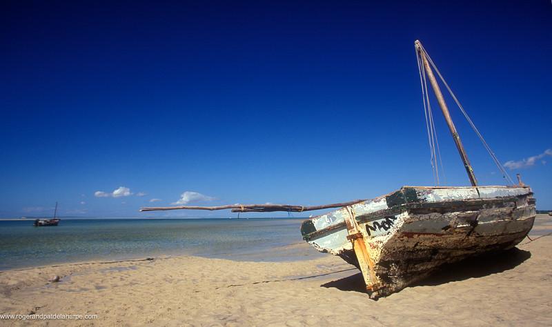 Beach Scene. Vilanculos. Mozambique