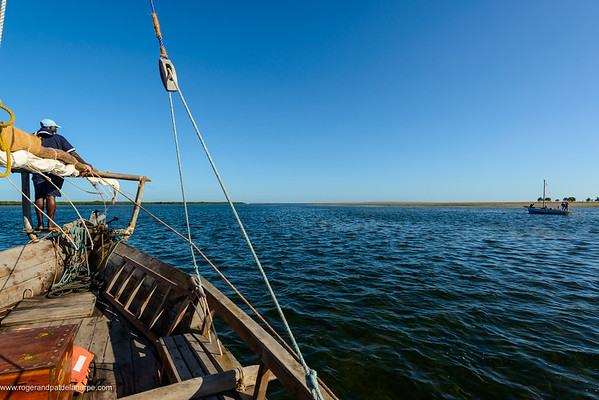Dhow. Ibo Island. Mozambique