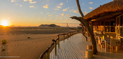 Little Kulula Lodge, part of Wilderness Safaris. Sossusvlei. Namib-Naukluft National Park. Namibia