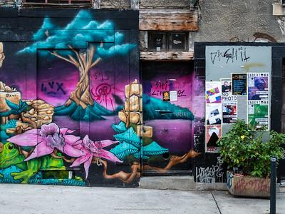 Amazing street art or graffiti  in Geneva. Switzerland
