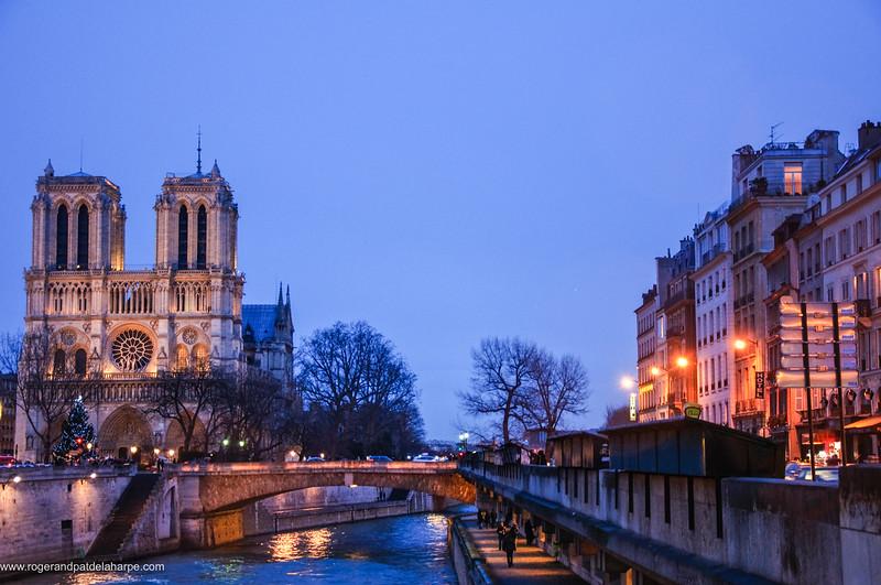 Notre Dame and Seine River