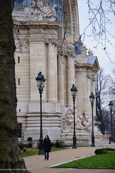 The Petit Palais or Small Palace. Paris. France