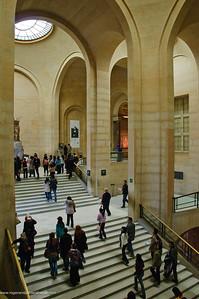 The Louvre Art Gallery. Paris. France