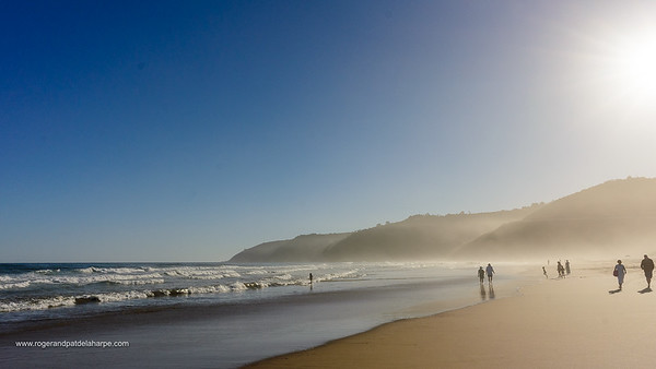 Beach scene. Wilderness. Garden Route. Western Cape. South Africa