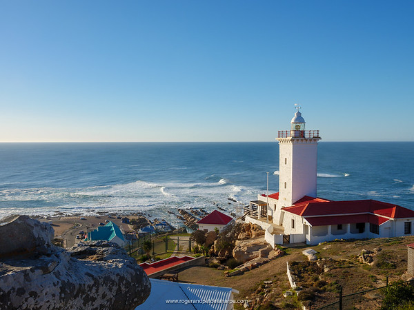 Cape St Blaize Lighthouse. Mossel Bay. Garden Route. Western Cape. South Africa