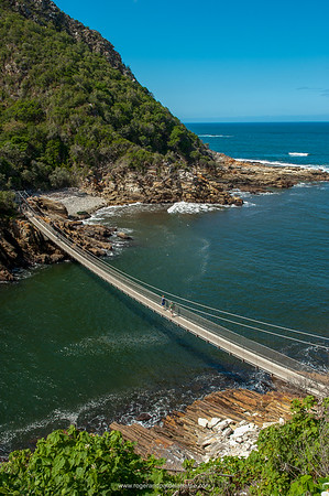 Storms River Suspension Bridge, Tsitsikamma, Garden Route National Park, South Africa