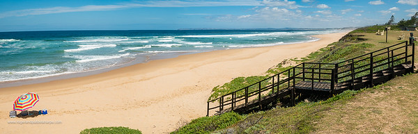 Beach scene at Glentana. Western Cape. South Africa