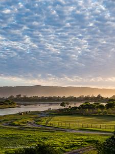 Swartvlei Estuary. Sedgefield. Garden Route. Western Cape. South Africa