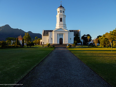 The historic  Nederduits Gereformeerde Kerk or Dutch Reformed Church in George. Garden Route. Western Cape. South Africa
