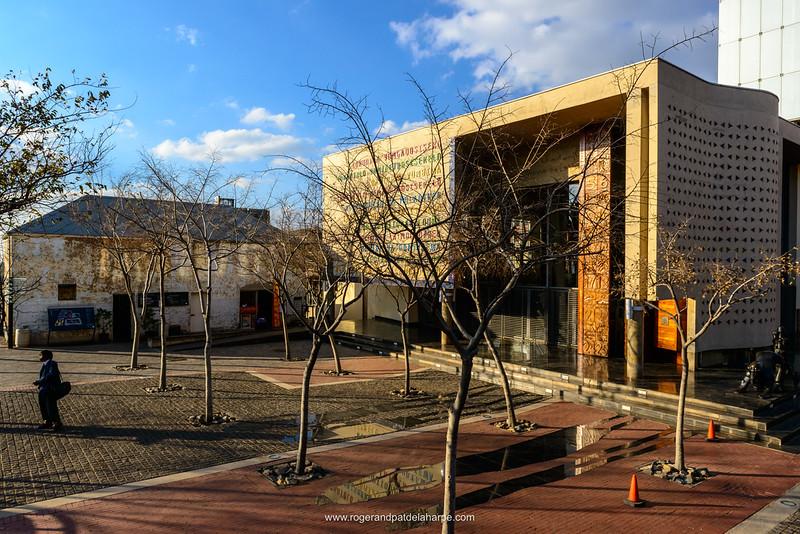 Constitutional Court. Johannesburg. Gauteng.  South Africa