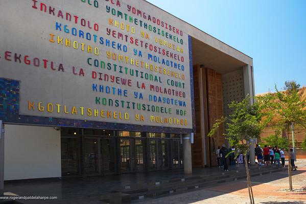 Constitutional Court. Constitution Hill. Johannesburg. Gauteng. South Africa