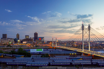 Nelson Mandela Bridge. Johannesburg. Gauteng. South Africa