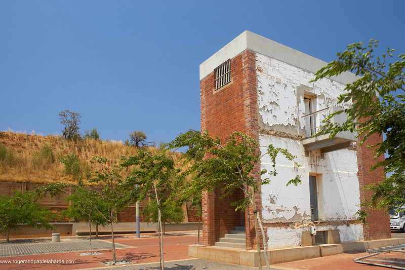 Staircase from the old prison complex. Constitution Hill. Johannesburg. Gauteng. South Africa