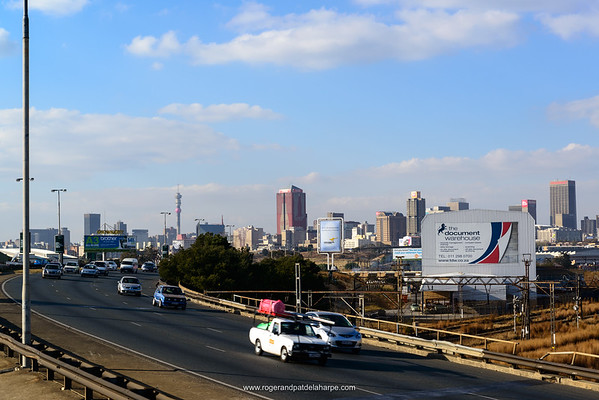Freeway. Johannesburg. Gauteng.  South Africa