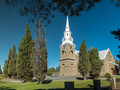 Dutch Reformed Church. Sutherland. Karoo. Northern Cape. South Africa.