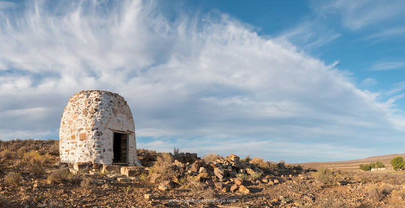 Corbelled house or building.  Middelpos. Northern Cape. South Africa.