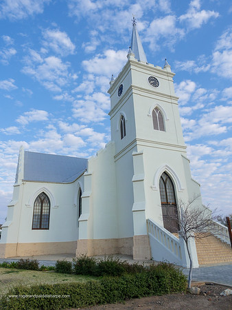 Image Number GH5R398226. NGK Dutch Reformed Church. Prince Albert. Western Cape. South Africa