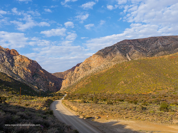 Image Number GH5R398240. Swartberg Pass through the Swartberg Mountains. Great Karoo. Prince Albert. Western Cape. South Africa