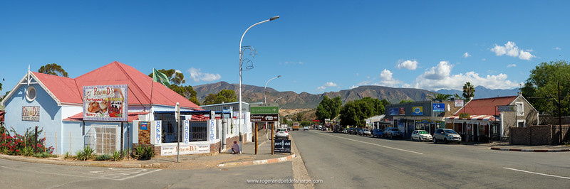 Street scene. Calitzdorp. Route 62. Western Cape. South Africa