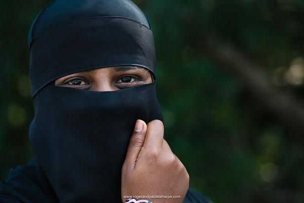 Muslem woman. KwaZulu Natal. South Africa
