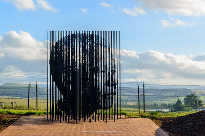 Nelson Mandela Capture Site and monument. Nelson Mandela was captured here in on 5 August 1962 by the South African Police on the R103. Howick. KwaZulu Natal Midlands. South Africa