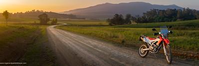 Adventure Biking. Howick. KwaZulu Natal Midlands. South Africa