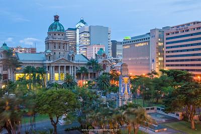 City Hall. Durban. KwaZulu Natal. South Africa.