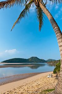 Kosi Bay mouth. Manguzi (Kwangwanase). Isimangaliso Wetland Park (Greater St Lucia Wetland Park. KwaZulu Natal. South Africa