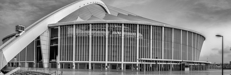 MM stadium or Moses Mabhida Stadium. Durban or eThekwini. KwaZulu Natal. South Africa.