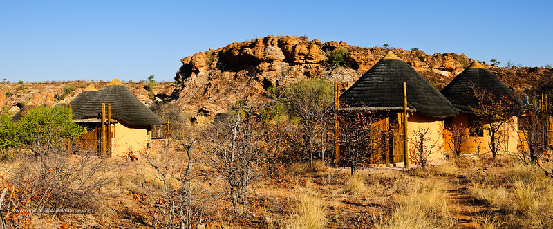 Chalets at Leokwe Camp. Mapungubwe National Park. Limpopo Province. South Africa.