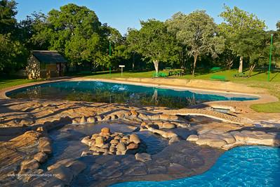 Swimming Pool at Pretoriuskop camp. Kruger National Park. Mpumalanga. South Africa.