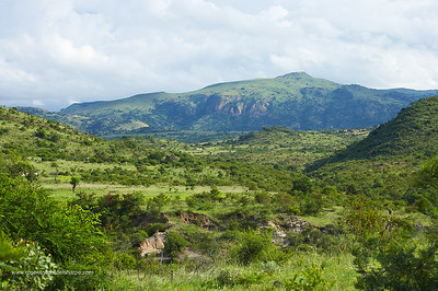 View towards Songimvelo Nature Reserve. Mpumalanga. South Africa.
