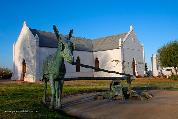 Donkey Memorial. Upington. Northern Cape. South Africa