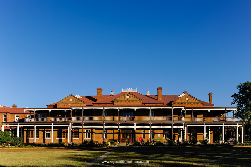 McGregor Museum. A national monument, built in 1897 at Cecil John Rhodes' instigation as an hotel and health resort. Rhodes's home during the four-month siege, it was refurbished and renamed the Hotel Belgrave. A convent school run by the Sisters of the Holy Family from 1933, it became the McGregor Museum's headquarters in 1971. Displays include natural history, the Siege of Kimberley, a Hall of Religions and the acclaimed Ancestors Gallery depicting 3 million years of human history in the Northern Cape.Kimberley. Northern Cape. South Africa.