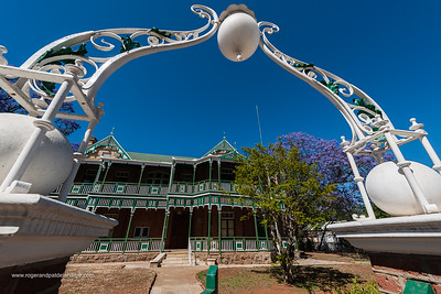 Dunluce. An elegant home, built in 1897 for Gustav Bonas. John Orr's family home from 1902 to 1975. Declared a national monument in 1990. Kimberley. Northern Cape. South Africa.