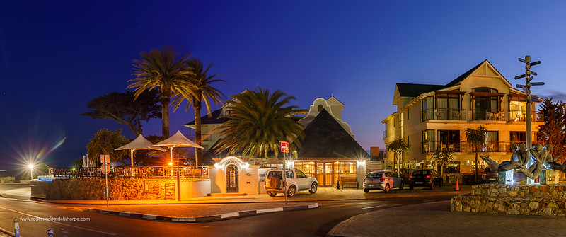 Image Number a7Riv403276-HDR-Pano. Harbour House Hotel at Gearings Point Waterfront. Hermanus. Whale Coast. Overberg. Western Cape. South Africa