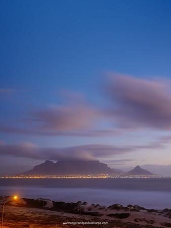 View of Table Mountain from Blouberg