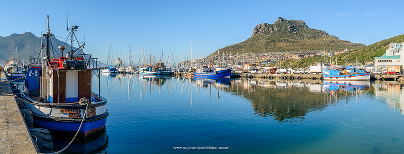 Boats in Hout Bay harbour
