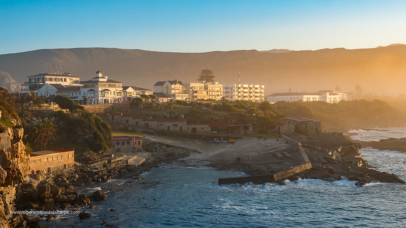 View of Hermanus. Western Cape. South Africa