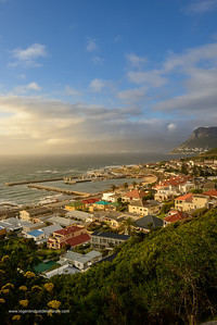 View over Kalkbaai or Kalk Bay